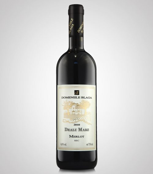 Domeniile Blaga Merlot Dealu Mare 2010