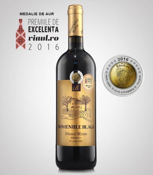 Domeniile Blaga Vin Rosu Merlot cuvee XII