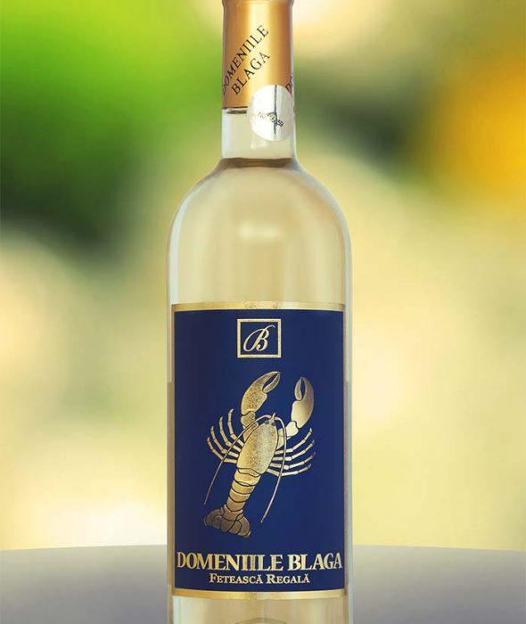 Domeniile Blaga Feteasca Regala 2016 Dealu Mare Vin alb sec de calitate superioara Cumpara vin