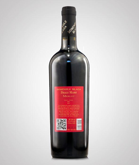 Domeniile Blaga Merlot Dealu Mare 2013 Cumpara vin online