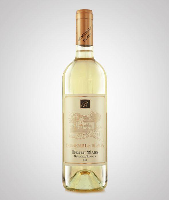 Domeniile Blaga Feteasca Regala 2015 Dealu Mare Vin alb sec de calitate superioara Cumpara vin online