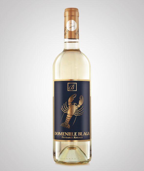 Domeniile Blaga Vin alb Feteasca Regala 2016 Dealu Mare, sec de calitate superioara Cumpara vin online
