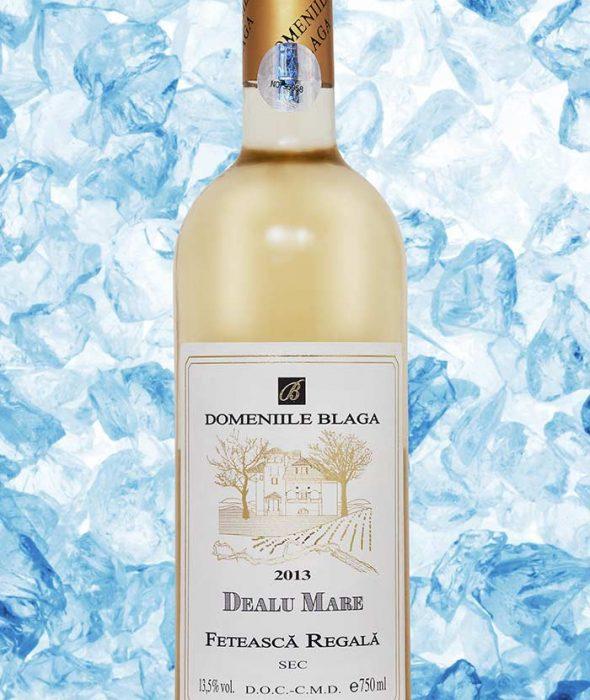 Domeniile Blaga Feteasca Regala 2013 Dealu Mare Vin alb sec de calitate superioara Cumpara vin online
