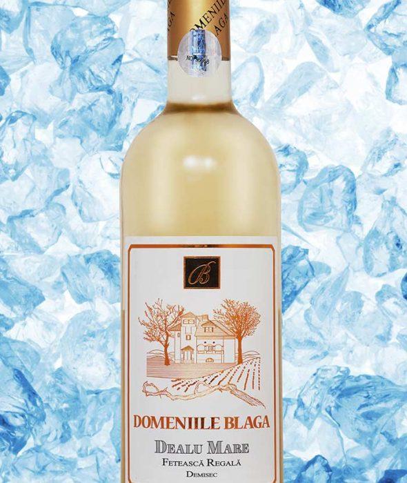Domeniile Blaga Vin Alb Feteasca Regala 2014 Dealu Mare Vin alb demisec de calitate superioara Cumpara vin