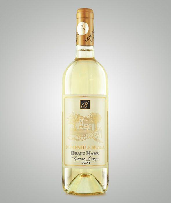 Vin Alb Dulce Blanc Doux, Domeniile Blaga, Dealu Mare 2018