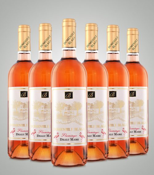 Domeniile Blaga Cabernet Franc Rose Dealu Mare Demisec 2018